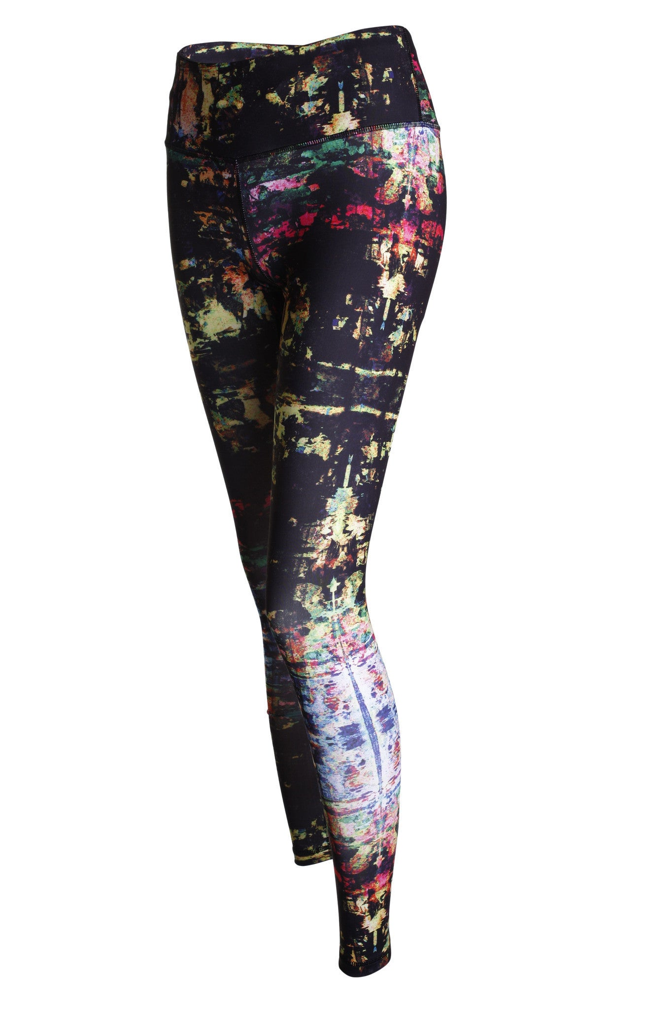 Lucky Graphic Legging - Coloured Shade