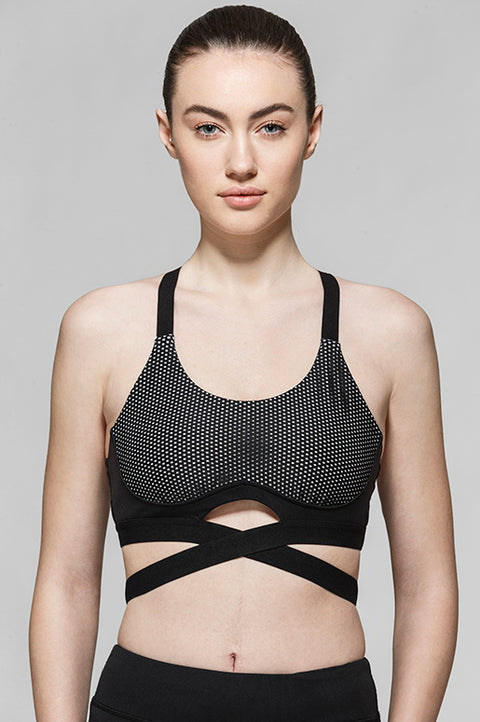 Mireya Criss Cross Light Impact Bra, Bras, TITIKA ACTIVE
