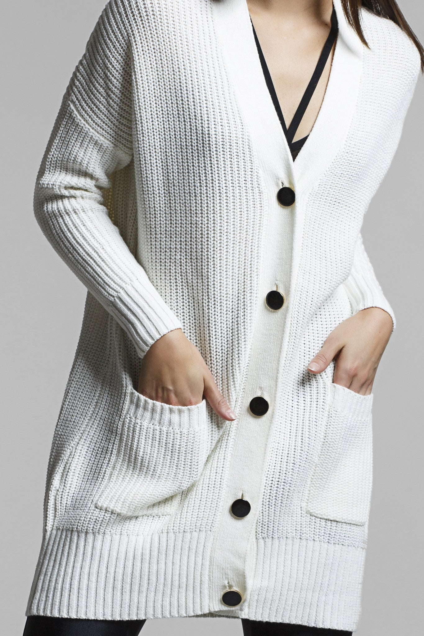 Isle Oversized Knit Cardigan – Titika Active Couture™