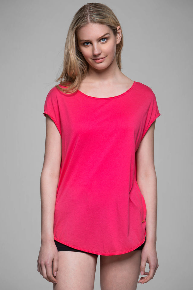 Kate Open Back Tee, Short Sleeve Tops, TITIKA GO-TO