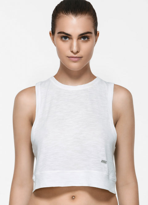 Mathilde Cropped  Tank