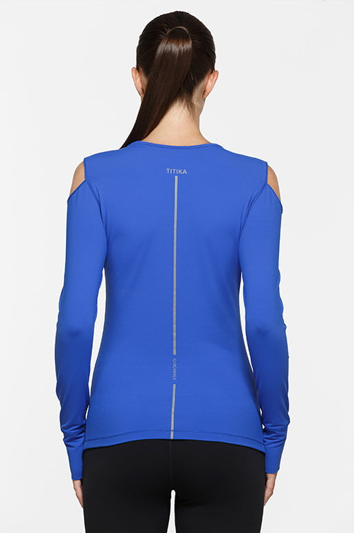 Dazzling Electric Long Sleeve Top