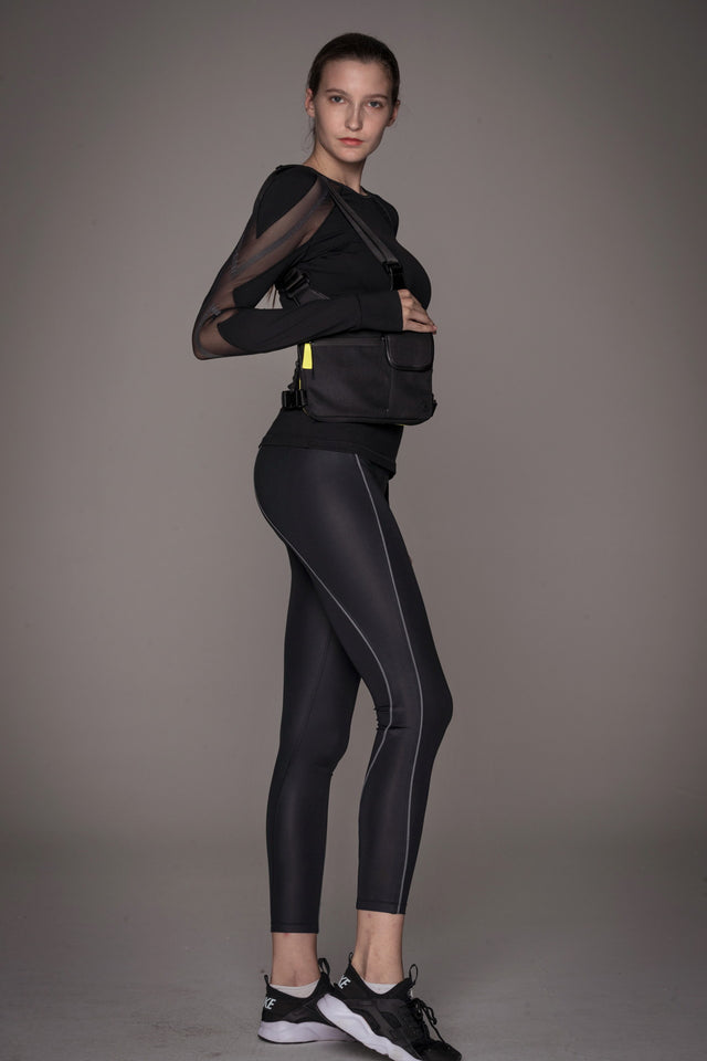 Plié Reflective Leggings