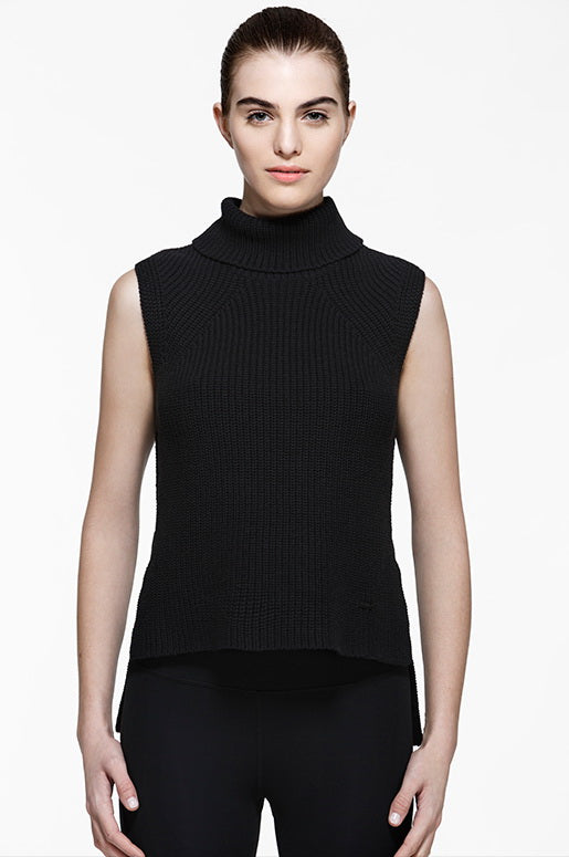 Addison Sleeveless Sweater, Sweaters, TITIKA BLACK