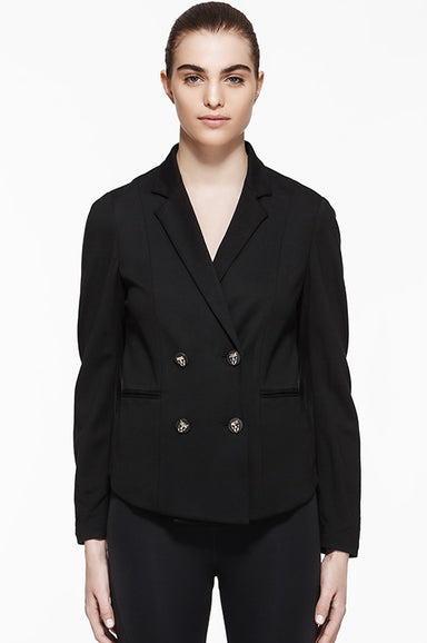 Blackjack Double Breasted Blazer, Jackets, TITIKA BLACK