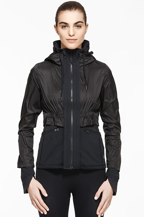Marathon Jacket - Black, Jackets, TITIKA ACTIVE