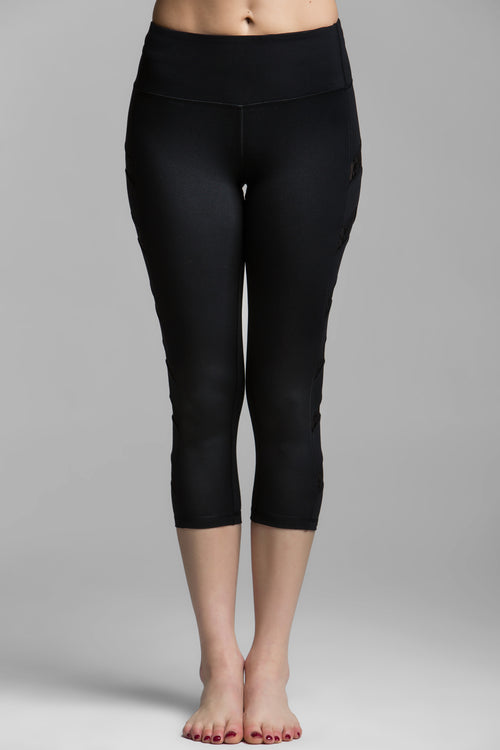 Simone Crop Legging, Bottoms, Titika