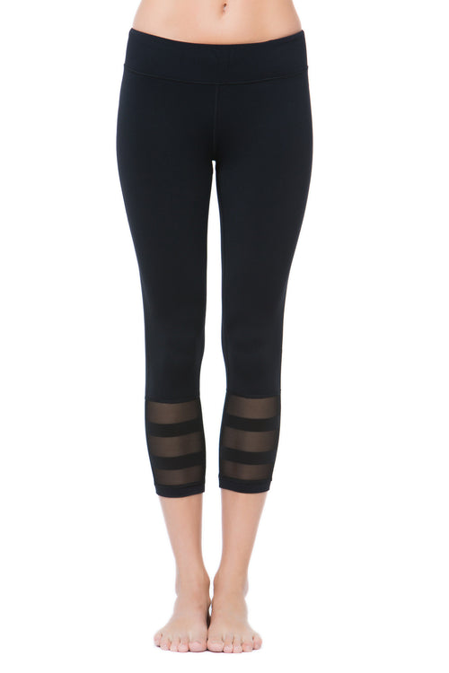 Line Crop Legging