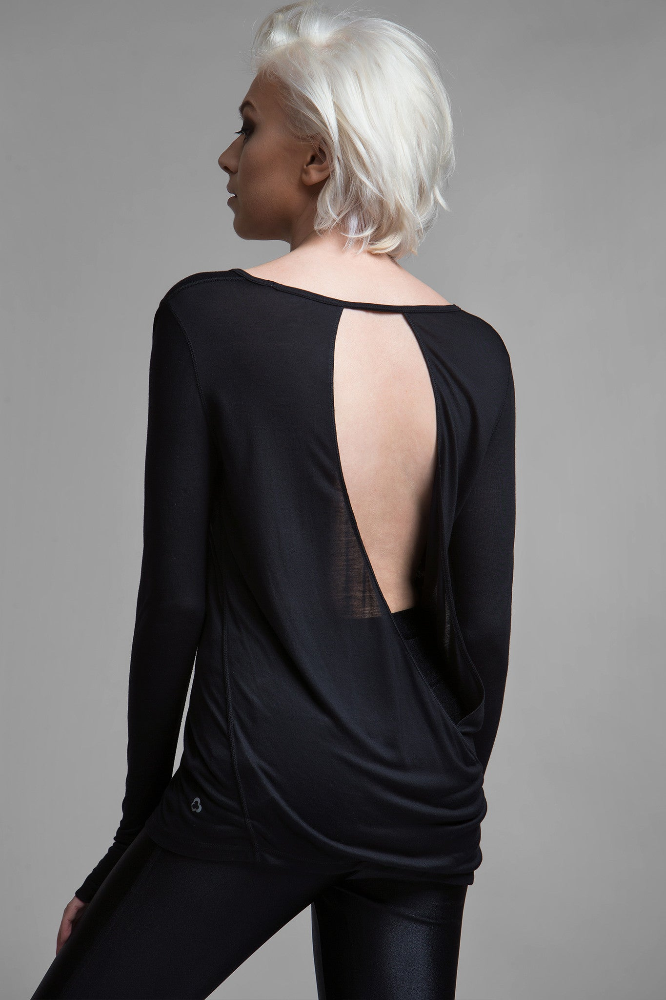 Conde Open Back Top