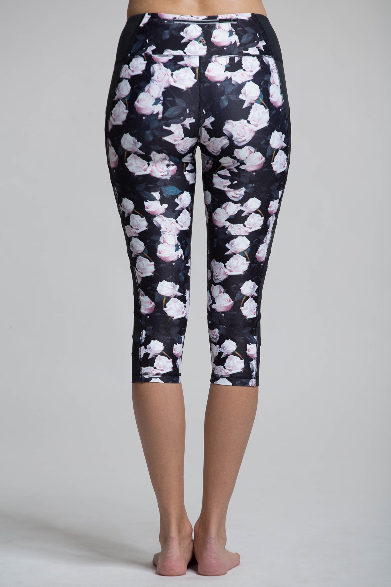 Simone Crop Graphic Leggings