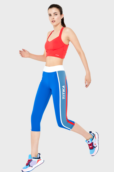 Track Crop Legging