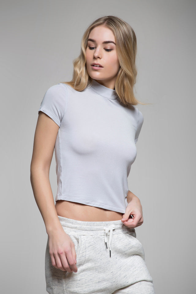 Hallie Crop Top, Short Sleeve Tops, TITIKA GO-TO