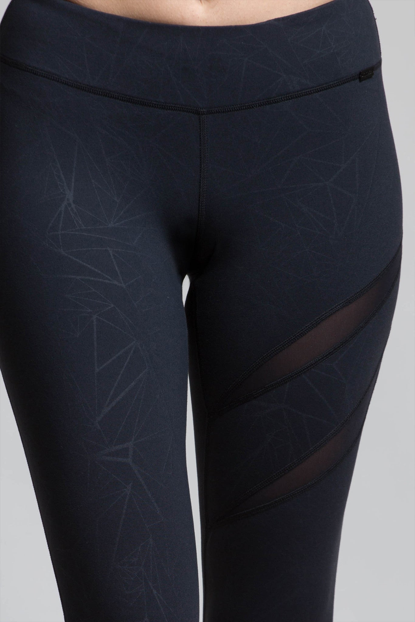 Heart Geo Mesh Leggings