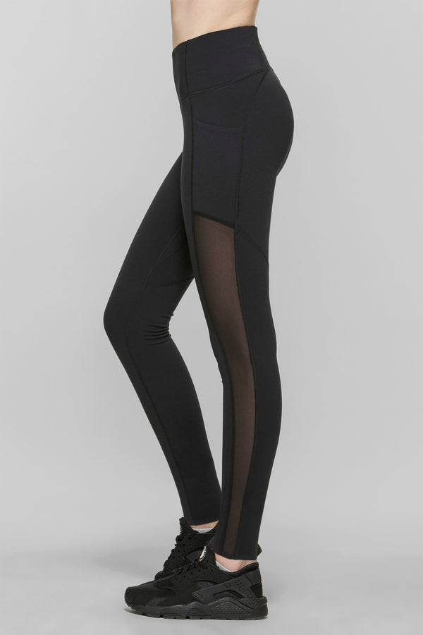 Compress Mesh Leggings Regular 30.5""