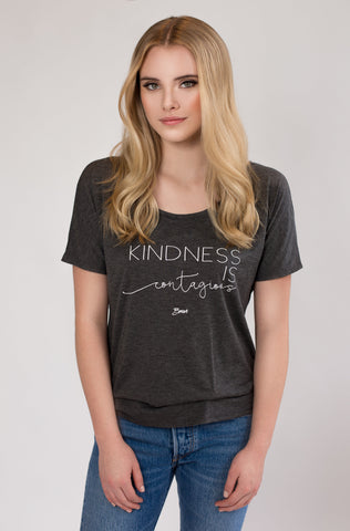 Authentic Brave Apparel Kindness is Contagious Tee