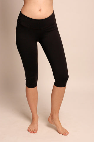 One Tooth Wide Band Legging Capri