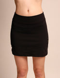 One Tooth Zipper Pocket Skort