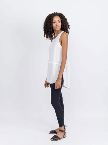 Free Label Ella Double Layer Tank