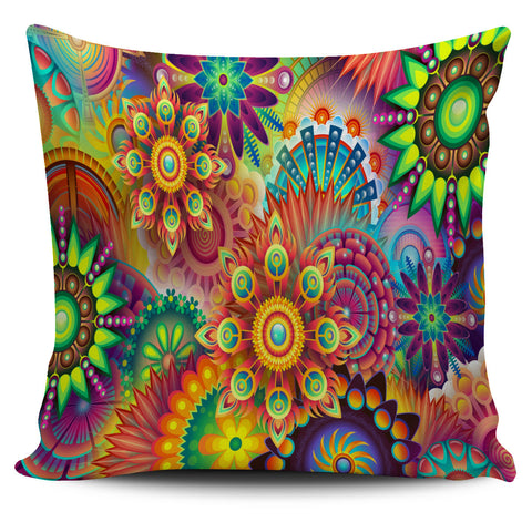Abstract Flower Pillowcase