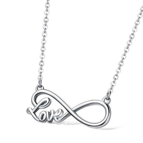 Beautiful Infinity Love Necklace - Free Shipping