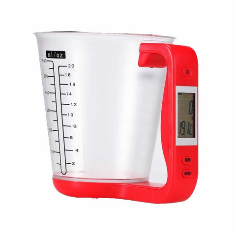 Digital Measuring Cups With LCD Display