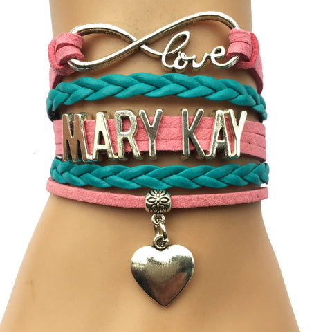 Infinity Love Mary Kay Bracelet with Heart Charm
