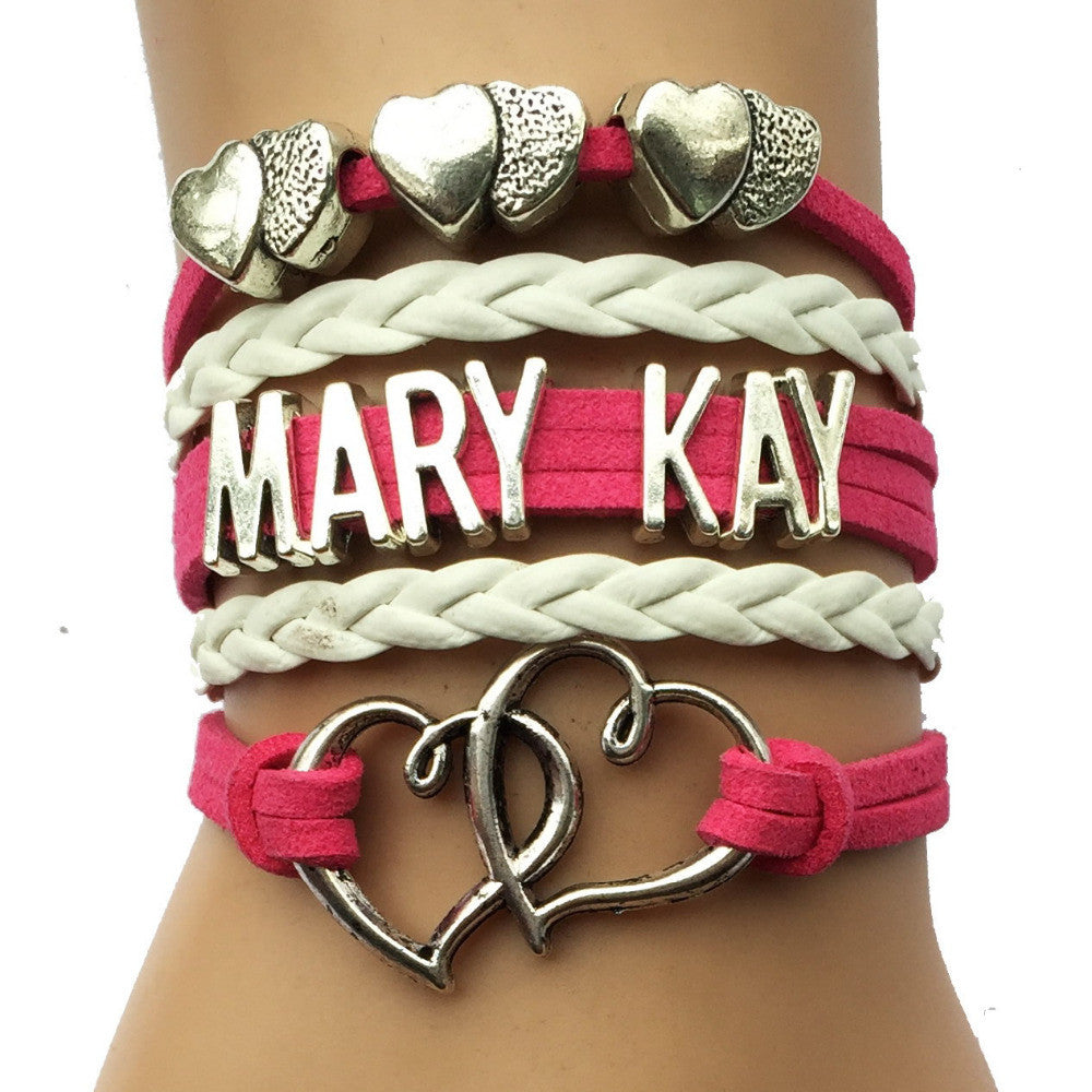 Infinity Love Mary Kay Heart Bracelet