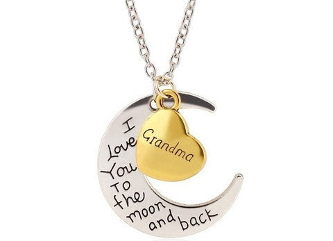I Love You To The Moon & Back - Necklace - Lot 33