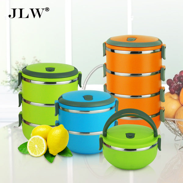 High Quality Multi-layer Bento Lunch Box Thermal Stainless Steel Bowls Lunchbox