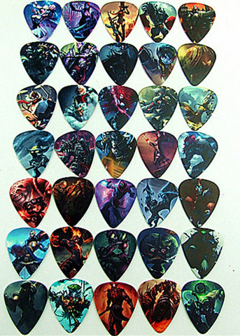 League of Legends 10pcs Electric Guitar Picks