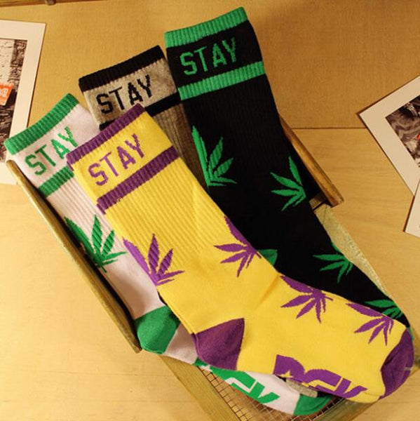 FREE OFFER - Stay Smokin - Weed Socks