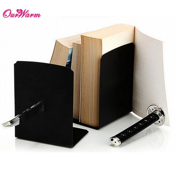 Katana Sword Decorative Bookends With Hidden Bracket Magnetic Bookend Bookshelf Shelf Bracket Home Decoration Accessories