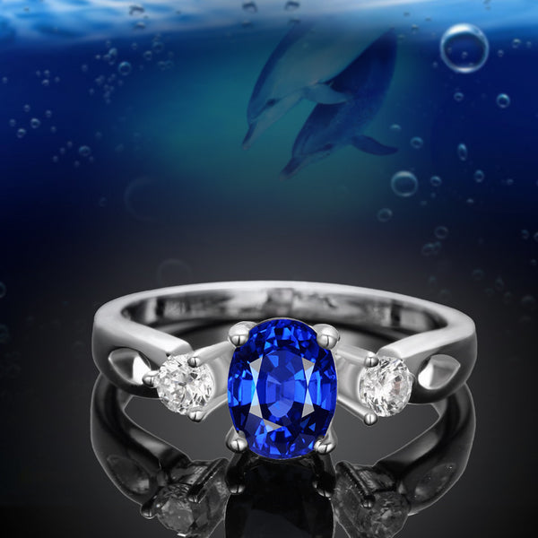 Beautiful Cubic Zirconia  Silver Plated Women Fashion Rings