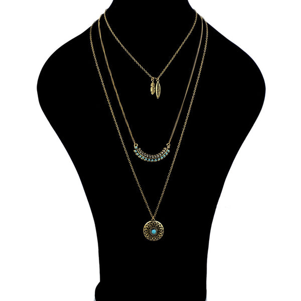 Long Boho Vintage Beads Necklaces & Pendants for Women