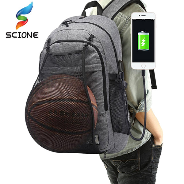Basketball Soccer Ball Bags Laptop Backpack