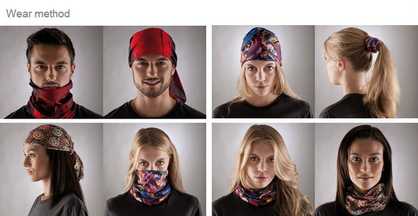 Magic Turban Headband, Scarf  or Face Mesh Bandana