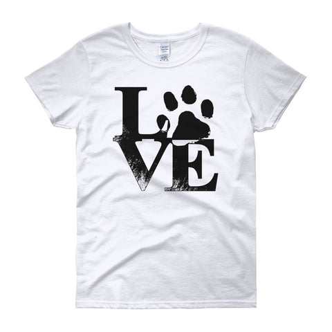 Pet Paw Love Tee