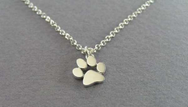 Cute Pet Paw Necklace - Free Shipping