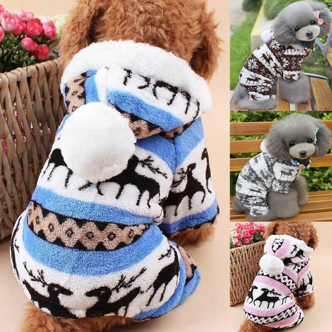 Pet Dog Fleece Coat Jacket