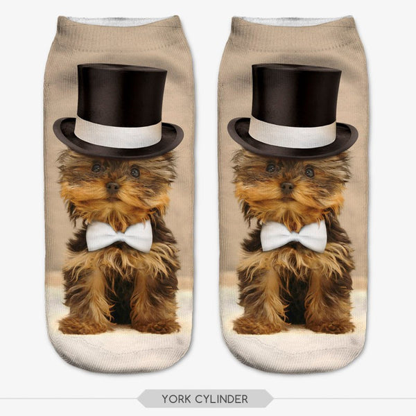 FREE OFFER - 3D Print Animal Unisex Low Cut Ankle Socks