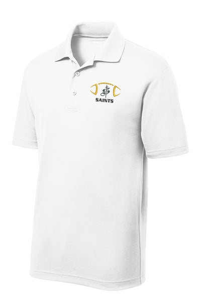 Youth Football SS Performance Polo Shirt
