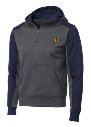 Moisture Wicking 1/4 Zip Hoody