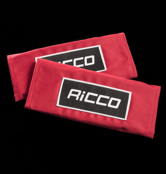 "Red 3"" harness pads"