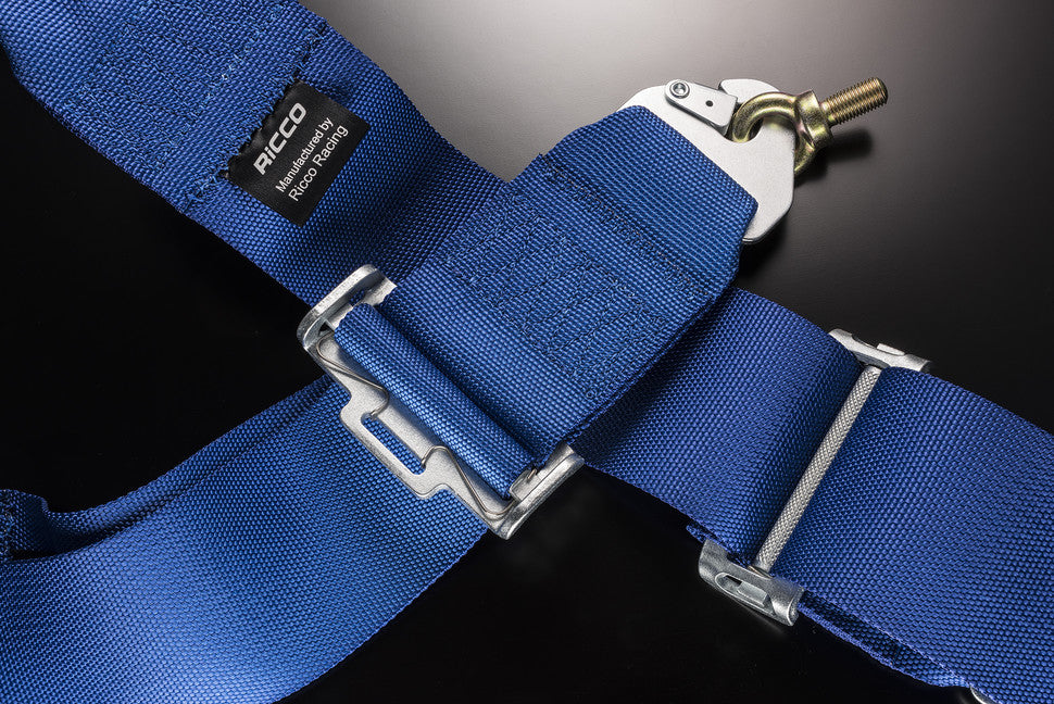 Blue harness detail