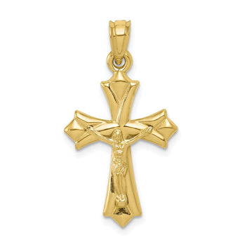 10k Reversible Crucifix /Cross Pendant