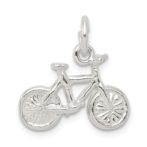 Sterling Silver Bicycle Charm