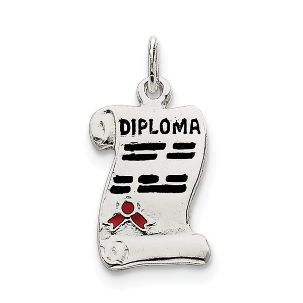 Sterling Silver Diploma Charm