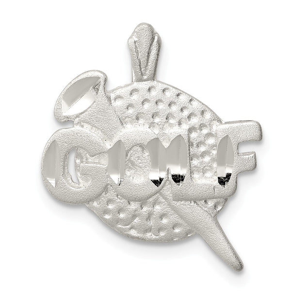 Sterling Silver Golf Ball Charm