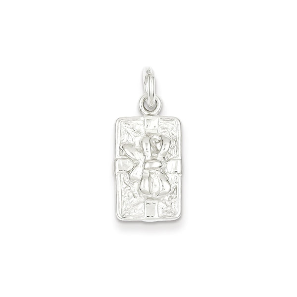 Sterling Silver Present Charm