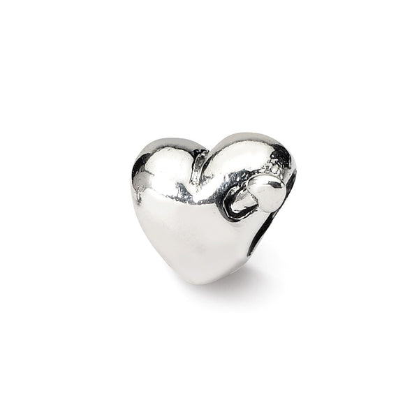 Sterling Silver Reflections Kids Heart with Arrow Bead